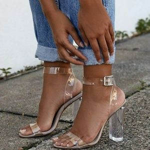 Shoes - Clear Heels